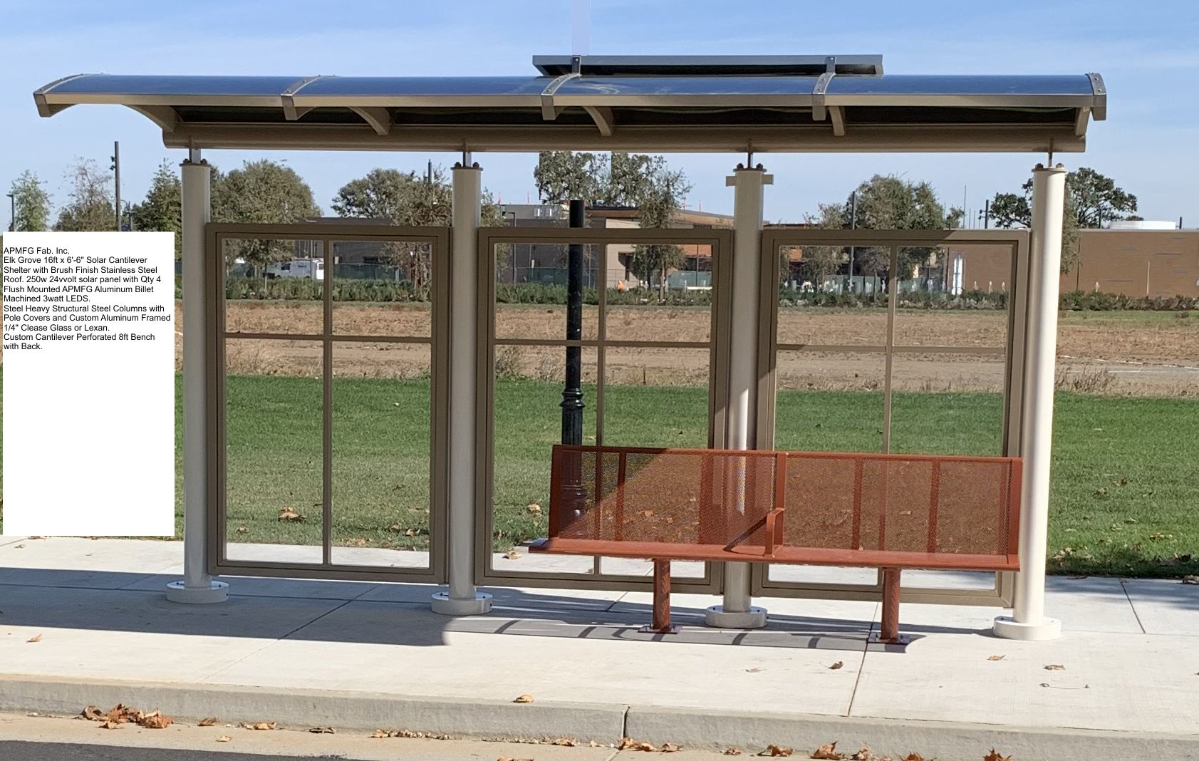 Solar Peak Bus Shelter