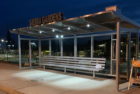 Solar Bus Shelter Lighting Led